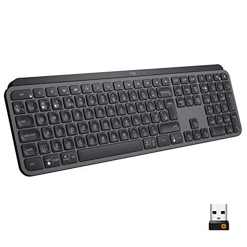 Logitech MX Keys Advanced Illuminated Wireless Keyboard - £92.78 @ Amazon
