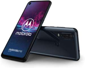 "Motorola One Action 128GB / 4GB - Android One, Dual Hybrid SIM, 6.3"" FHD 21:9, Triple Cameras, Blue - £149.99 (with code) @ Lenovo UK"