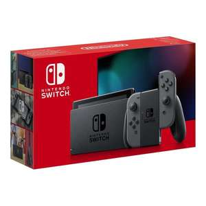 Nintendo Switch Grey £279.99 / £252 with 10% Buy Now Pay Later credit back + £3.95 postage / Free Click & Collect @ Very