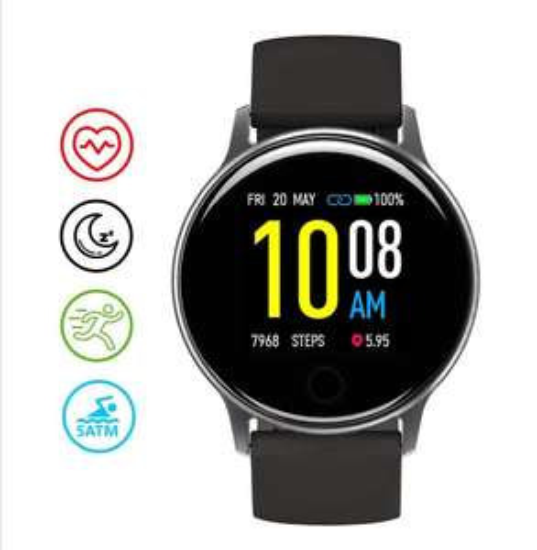 UMIDIGI Smart Watch Uwatch 2S 5ATM Waterproof Fitness Watch - £29.99 @ Sold By UMIDIGI Direct Fulfilled By Amazon