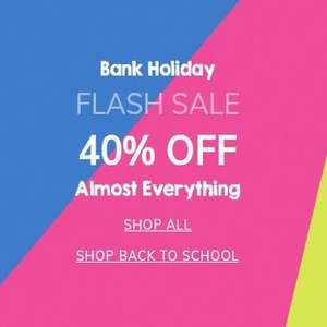 Claires Accessories 40% off almosy everything online only - flash sale - FREE Click & Collect over £5 / £3.50 delivery under £20