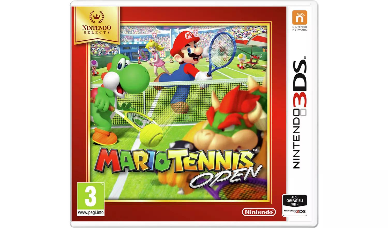 Mario Tennis Open Nintendo 3DS Game £4.99 at Argos (Free click and collect)