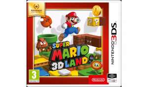 Super Mario Land 3D Nintendo Selects 3DS Game £8.99 at Argos (Free click and collect)