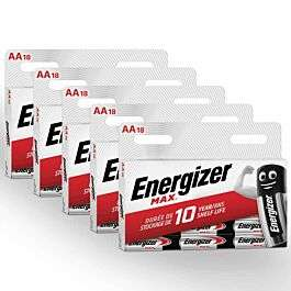 Energizer AA batteries - Pack of 90 £14.99 @ Ryman (Free C&C)