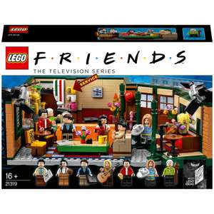 15% off selected LEGO sets at Zavvi with code e.g. LEGO Ideas: Central Perk Friends: TV Show 21319 £50.14 with code (£1.99 P&P)