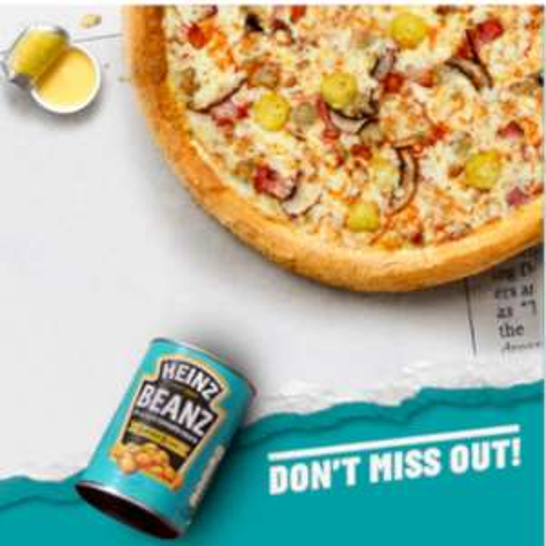 Vegan All Day Breakfast Pizza £20.49 @ Papa John's