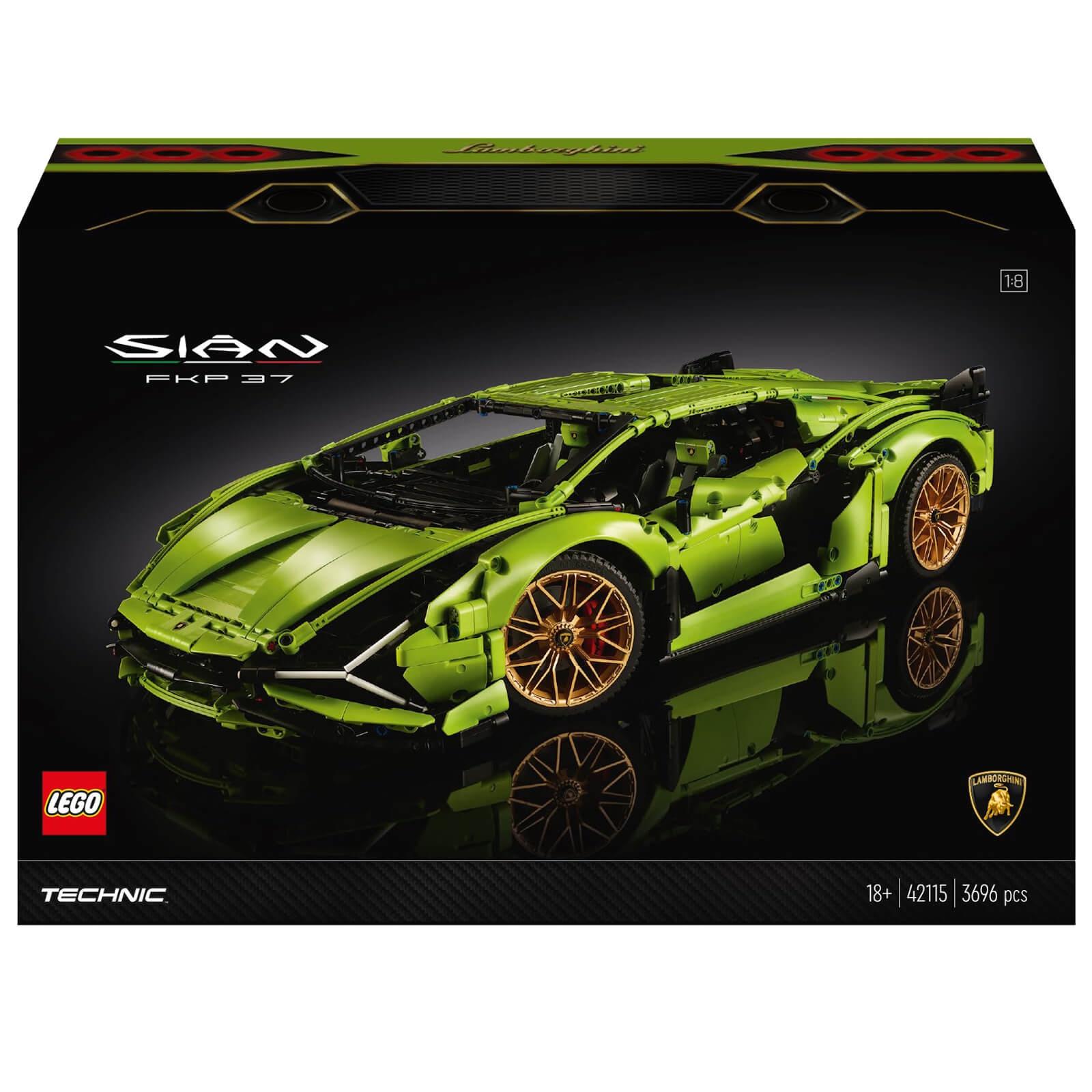 LEGO Technic: Lamborghini Sián FKP 37 Car Model (42115) £274.99 delivered with code @ Zavvi