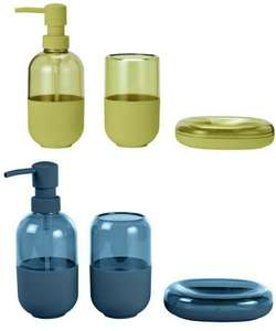 Argos Home Capsule Bathroom Accessory Set - Lime or Navy £2 - Free Click and Collect @ Argos