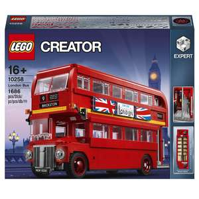 LEGO Creator Expert: London Bus (10258) - £89.99 Delivered Using Code @ Zavvi