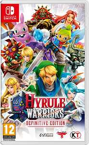 Hyrule Warriors: Definitive Edition (Nintendo Switch) £28.99 delivered at Amazon