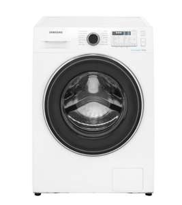 Samsung ecobubble™ WW80J5555FA 8Kg Washing Machine with 1400 rpm - White - A+++ Rated - £339 at ao.com