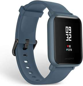 Global Version Amazfit Bip Lite Blue Smart Watch 45-Day Battery Life - £25.71 With Code @ Amazfit Official Store / Aliexpress