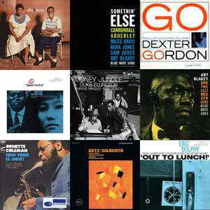 Best of Jazz Starter Kit - All Time Classics Albums – Set of 10 Mystery Vinyl LP - £29.99 delivered with code @ Zavvi