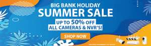 Foscam's Biggest Summer Sale Up to 50% off e.g. C2M Indoor Camera with Human Detection - £34.99 + free delivery