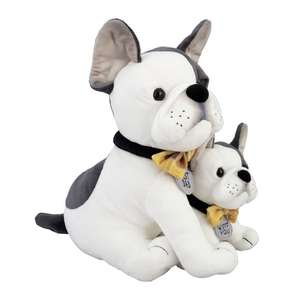 Bulldog & Pup Soft Toy - £5.99 - Free Click and Collect @ Argos