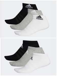 Adidas Cushioned Low-Cut Sports Socks £6.71/Ankle £7.46 3 Pairs with code (App purchase) Free delivery for creators club members @ Adidas