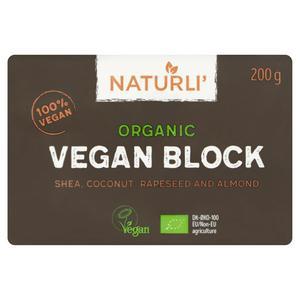 Naturli Vegan Block, Organic 200g - £1.50 at Sainsbury's