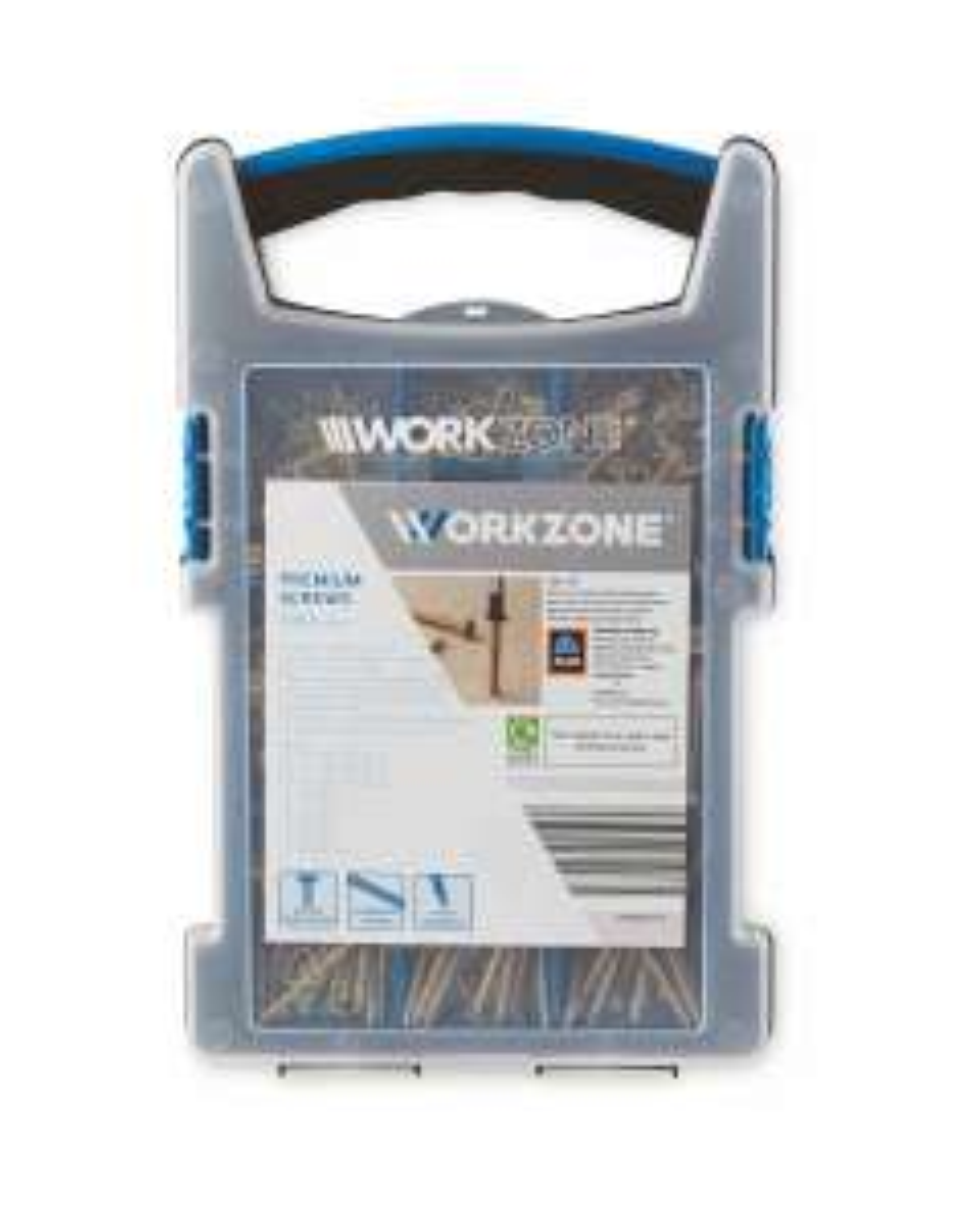 Aldi Workzone 1000 Premium Screws Set - £9.99 + £2.95 delivery @ Aldi