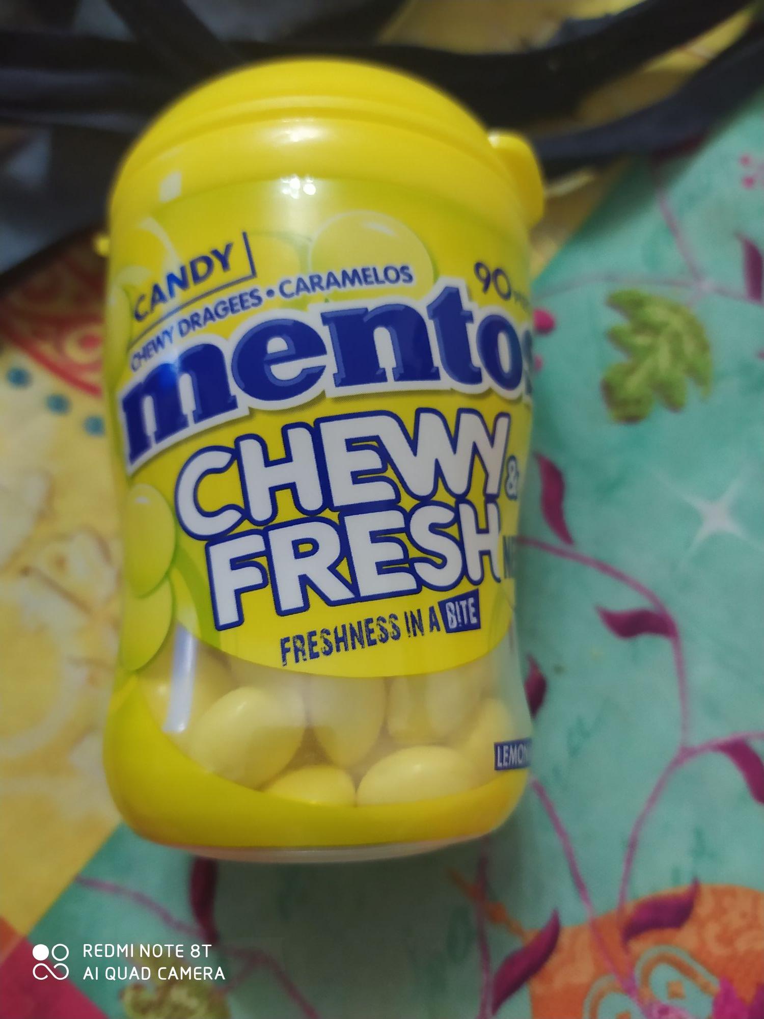 90 piece lemon mint Mentos - 49p Instore @ Home Bargain (Huddersfield)