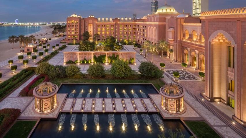 Emirates Palace Hotel, Abu Dhabi. Dates in December - £342 per night Half Board @ Travel Republic