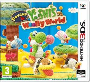 Poochy and Yoshi's Woolly World (Nintendo 3DS) for £12.99 (Prime) / £15.98 (Non Prime) @ Amazon
