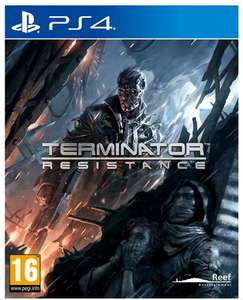 Terminator Resistance (PS4 Game or XBOX1 Game) £17.99 - Free Click and Collect @ Argos