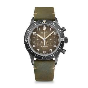 Zenith Pilot Cronometro Tipo CP-2 Mens Watch £4284 at Chisholm Hunter