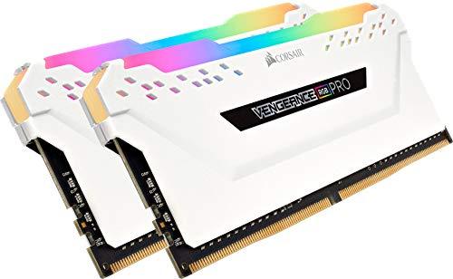 Corsair Vengeance RGB PRO 32 GB (2 x 16 GB) DDR4 3200 MHz C16 XMP 2.0 Enthusiast RGB LED Illuminated Memory Kit - £124 delivered @ Amazon