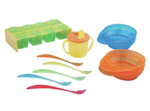 Littles Ones Baby Weaning Set less than half price - £4.25 (Free Click & Collect) @ Argos