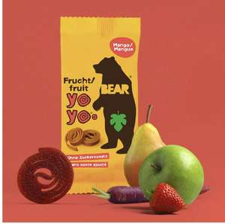 Bear Mango Pure Fruit Yoyos 20g (Pack of 18) - £5.98 (+£4.49 Non-Prime) @ Amazon
