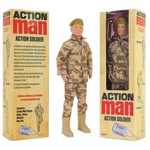 'Action Man' Soldier Figure - £9 Delivered @ Yankee Bundles