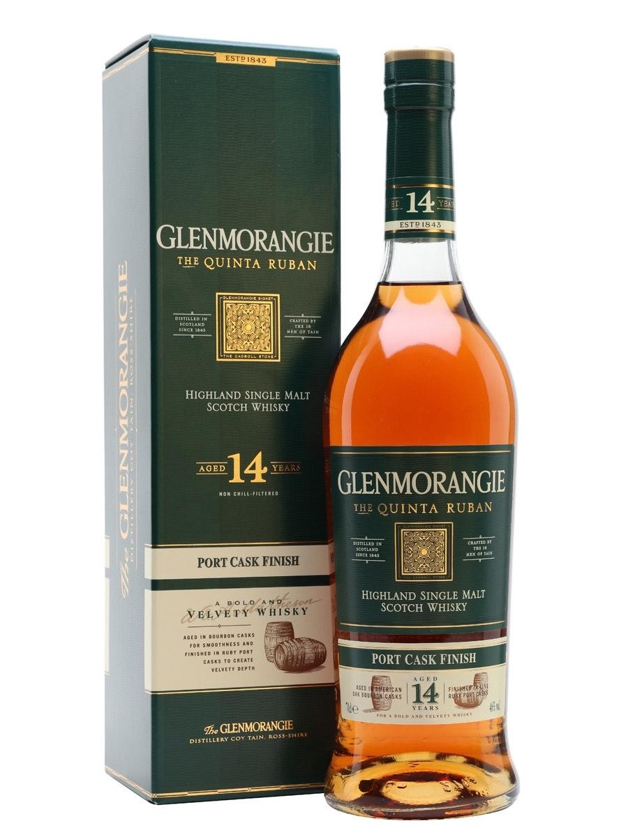 Glenmorangie The Quinta Ruban 14 YO, Gift Box 70cl at Amazon for £36