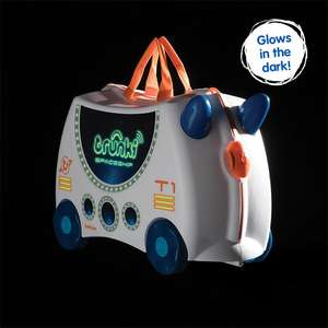 Trunki Pedro Pirate and Trunki Skye the Spaceship Glow in the Dark Ride-On Suitcases £20 each free click and collect at Argos