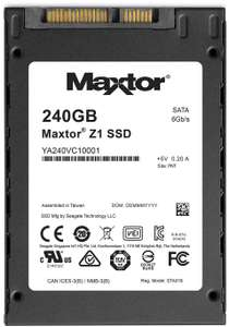 """Seagate Maxtor Z1 240GB 2.5"""" SATA SSD 540/425 MB/s for £22.50 / 480GB for £41.95 Delivered @ AWD-IT (3 Yrs. limited warranty)"""