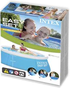 INTEX 6FT Easy Set Family Paddling Pool 880 Litres Capacity 10p isntore @ B&M Carn Brea Industrial Estate, Redruth