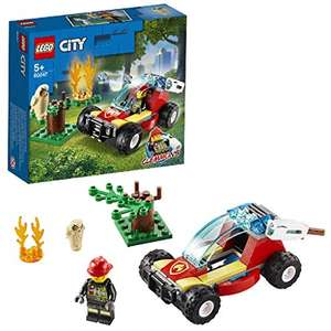 LEGO City 60247 Forest Fire Response Buggy with Firefighter £3.50 (+£4.49 Non Prime) @ Amazon