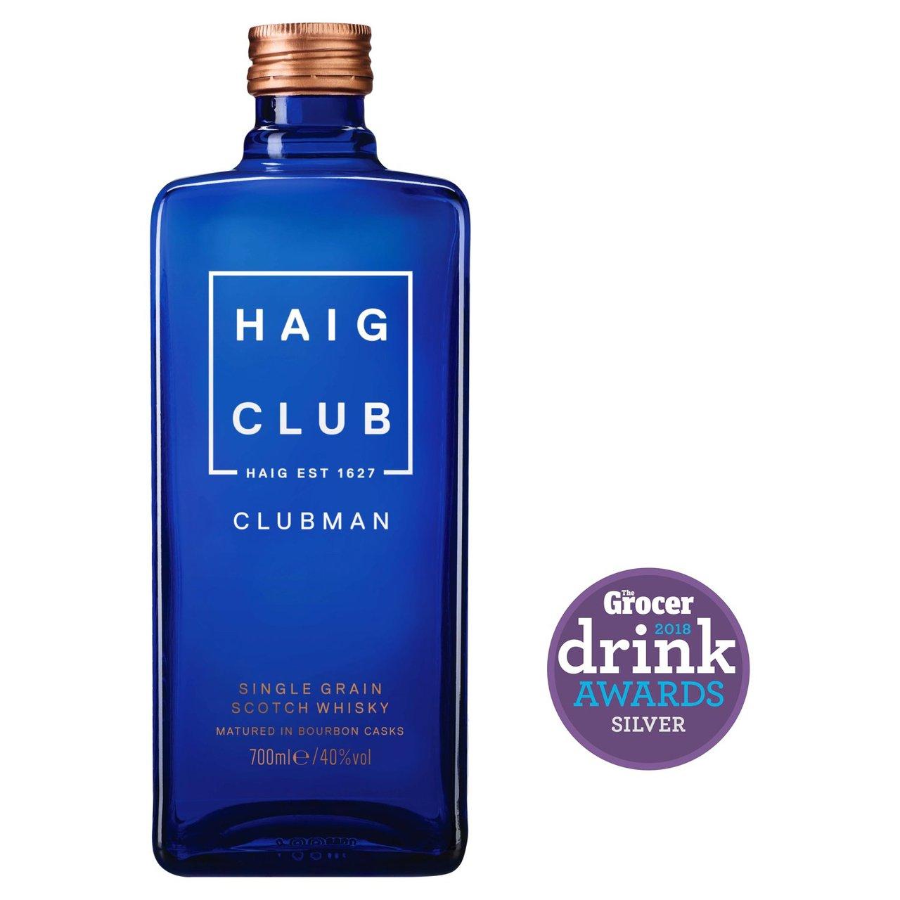 Haig Club Clubman single grain whisky £15.99 @ Morrisons