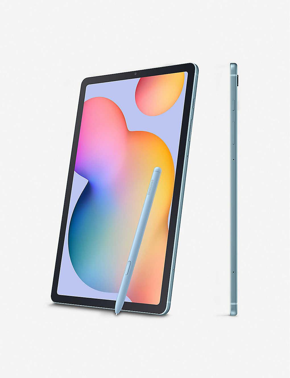 SAMSUNG Galaxy Tab S6 Lite tablet 64GB, Wi-Fi £297 at Selfridges