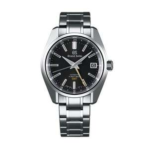 Grand Seiko Heritage Collection Black Automatic Mens Watch £4725 Chisholm Hunter