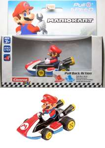 Carrera Play Pull Speed Action Mario Kart 8 Vehicles (Age 3+) Scale 1:43, £3.99 In store @ Home Bargains (Bishopbriggs)