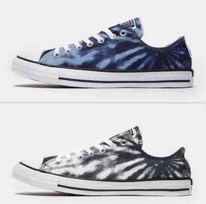 Converse All Star Ox Tie Dye Trainers Now £25 sizes 6 up to 13 click and collect £2 / delivery £3.99 @ J D Sports