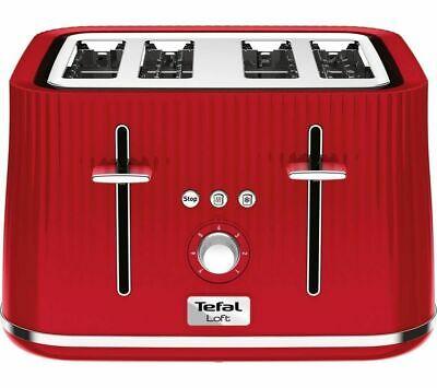 Tefal Loft TT60540 4-Slice Toaster - Cherry Red £24.97 delivered @ Currys eBay