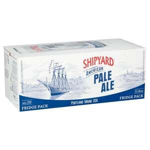 Shipyard American Pale Ale 10 X 440Ml £9 / Magners Apple Cider 10X440ml Can £6 @ Tesco