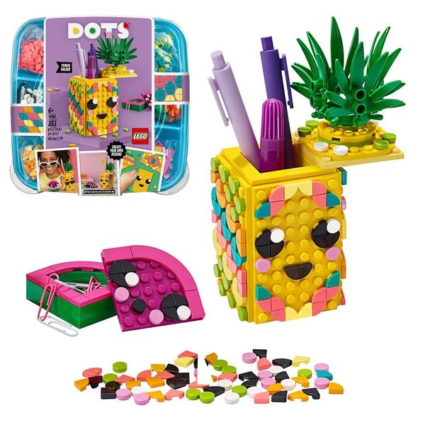 LEGO DOTS 41906 Pineapple Pencil Holder DIY Craft Set £13.99 at Smyths (free C&C)