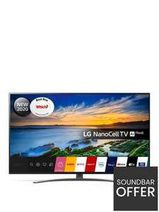 LG 65NANO866 65 inch, Ultra HD 4K Nano Cell, HDR, Smart TV £999 at Very