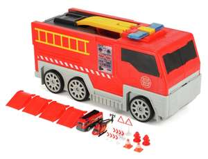 Chad Valley Folding Lights and Sounds Fire Truck with Firestation Playset - £11.50 C&C - limited availability @ Argos