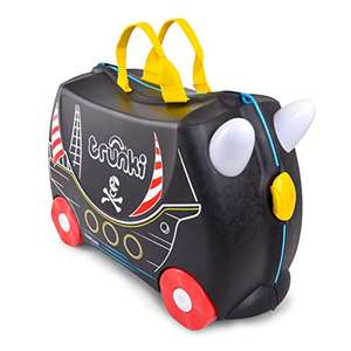 Trunki Children's Ride-On Suitcase & Hand Luggage: Pedro the Pirate Ship (Black) - £20 Prime (+£4.49 Non Prime) @ Amazon