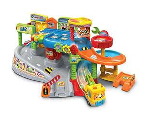 VTech Toot-Toot Drivers Garage, Racing Cars for Boys and Girls - £25.19 @ Amazon