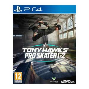 Tony Hawk's Pro Skater 1 + 2 (PS4 / Xbox One) Pre-order £30.36 with code @ The Game Collection eBay