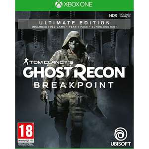 Ghost Recon Breakpoint - Ultimate Edition £19.99 C&C at GAME